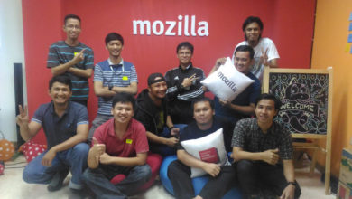 Photo of Main ke Mozilla Community Space
