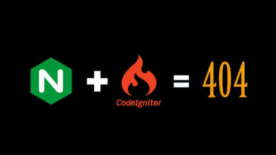 Photo of NGINX + CodeIgniter = 404