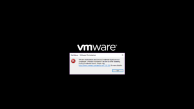 Photo of Solusi VMware Workstation and Device/Credential Guard are not compatible